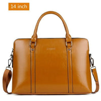 "Leather-look Ladies Laptop Bag - 14"" and 15.6"", 3 Colours - Einhorn Travel Accessories"