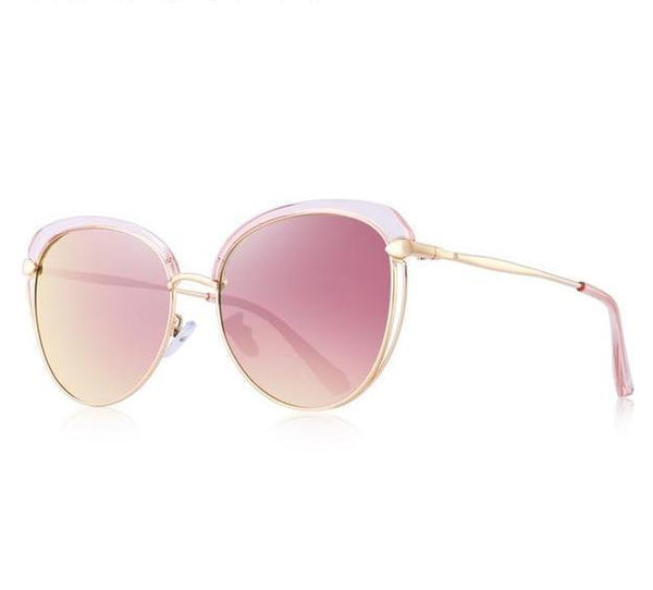 MERRYS Vintage Retro Ladies Polarized Cats Eye Sunglasses S6292 - Einhorn Travel Accessories