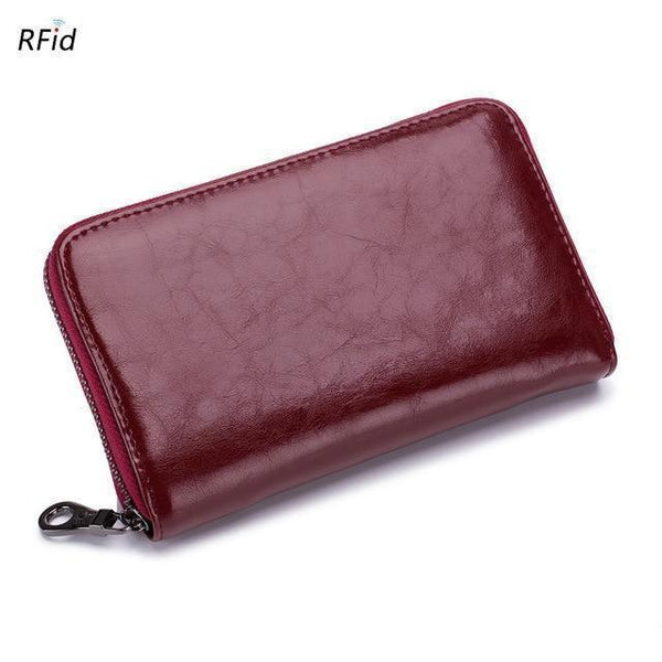 Unisex Genuine Leather RFID Wallet - Einhorn Travel Accessories