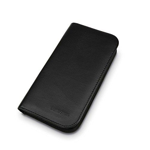 Samsonite Zip Close Travel Wallet, Black - Einhorn Travel Accessories