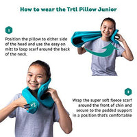trtl Pillow Junior with Built in Neck Support, for Kids Aged 8 + Health and Comfort