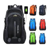 Backpack Waterproof 40L with USB - Einhorn Travel Accessories