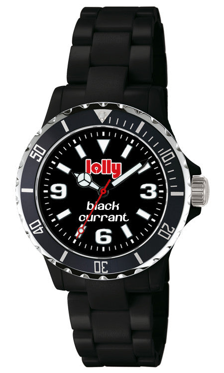 black watches, lolly eco-resin