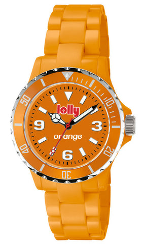 Orange watch, Eco-Resin : Orange sentanite