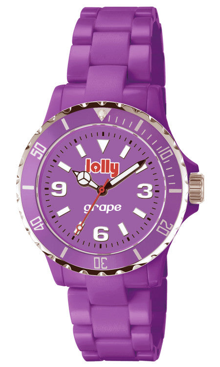 Purple watches : lolly eco-resin watches