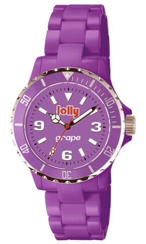 Purple watch, Eco-Resin : grape sentanite