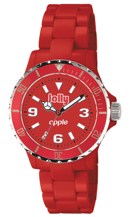 red watches : lolly Eco-Resin