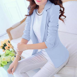 New Style Ladies Long-sleeved Slim Women Blazers And Jackets Small Suit Blazeruotelab-uotelab