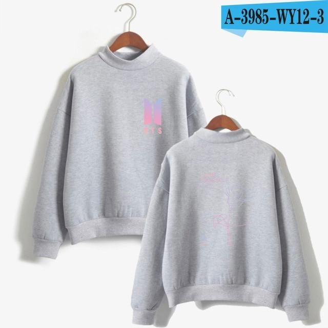 Love Yourself Fashion Bangtan Sweatshirt Women 2017 New Album DNAuotelab-uotelab