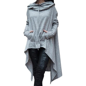 Fashion Hoodies Sweatshirt Women Casual Outwear Hoody Loose Long Sleeve Mantle Ladiesuotelab-uotelab