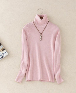 2016 New Fashion Sweaters Autumn Winter Women Sweaters and Pullovers Pure Coloruotelab-uotelab