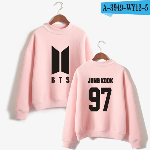 BTS 2018 Love Yourself k pop Women Hoodies Sweatshirts Bangtan boys outwearuotelab-uotelab