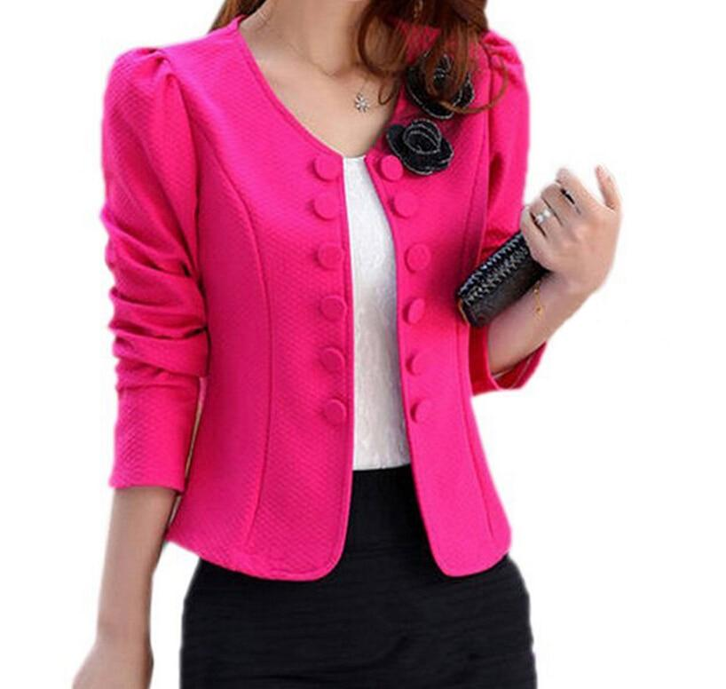 BFYL Women's Fashion suit Jacket Suit Blazer Short Coat Korean spring newuotelab-uotelab