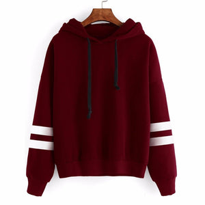 2018 Fashion Elegant Autumn Hooded Sweatshirt Long Sleeve Pullover Streetwear Hoodiesuotelab-uotelab