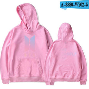 Winter Bangtan Boys Fashion Harajuku Hoodies Women BTS LOVE YourSelf Her Newuotelab-uotelab