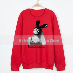 Pullover Hoodies For Women Loose Oversized Hoodie Femme Ariana Grandes Sweatshirts Sweatuotelab-uotelab