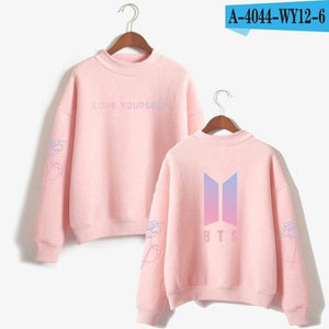 BTS Love Yourself k pop Women Hoodie Sweatshirts Hoodies outwear Hip-Hopuotelab-uotelab