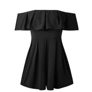 Lossky Bodysuit Summer Women Hot 2018 Sexy Slash-Neck Wrapped Chest Strapless Backlessuotelab-uotelab
