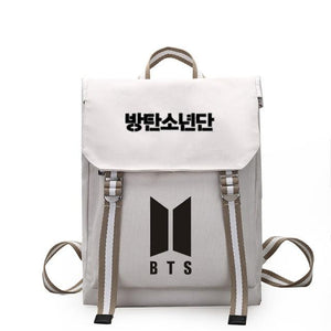 New Kpop BTS BT21 Bangtan Boys Group The Same Canvas Students Baguotelab-uotelab