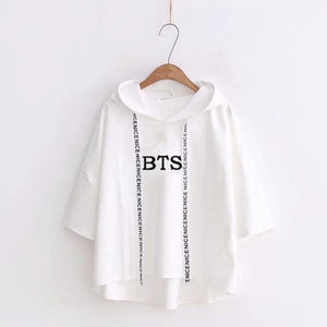 Ulzzang Harajuku hoodies Fashion BTS Kpop Clothes Women Casual Hooded Sweatshirts Pulloversuotelab-uotelab