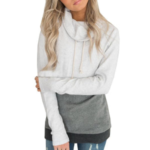Spring Autumn Women Casual Hoodies Sweatshirts Long Sleeve Pullover Sweatshirt Loose Moletonuotelab-uotelab