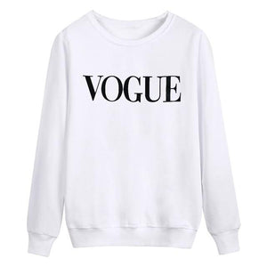 USA Letter print New women fashion Long Sleeve Hoodie Sweatshirt Harajuku Jumperuotelab-uotelab
