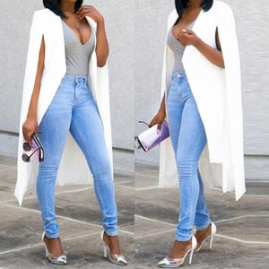 coats Blazers Loose Long Cloak Blazer Coat Cape Cardigan Outwear Trenchuotelab-uotelab