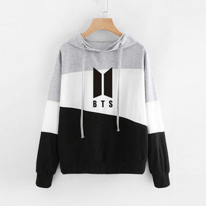 Kpop BTS Hoodies for WomenBangtan Boys Letter Printed Fans Supportive BTS Albumuotelab-uotelab