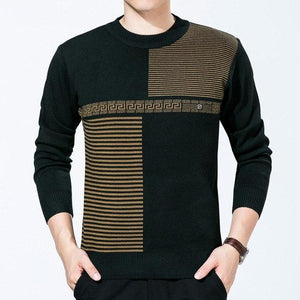 Men Sweater Winter O-neck Knitted Sweaters Men Casual Cashmere Pullovers Male shirtuotelab-uotelab