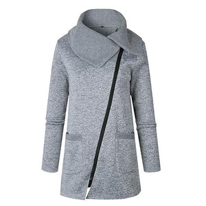 Big size Autumn Spring long sweatshirt women coat fashion causal thin cottonuotelab-uotelab