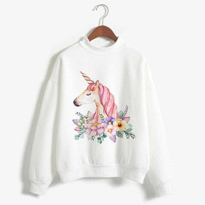 2018 Autumn Winter Women Hoodies Female Long Sleeve Sweatshirt Coat Tunic Kawaiiuotelab-uotelab