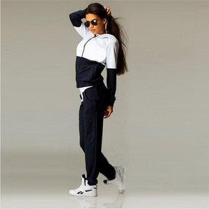 2018 Women's Tracksuits Fashion Suits Sweatshirt and Pants 2 Pcs Set Womenuotelab-uotelab