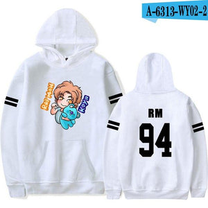 RM Print Hoodies Crops Kpop Women And Men Fans popularuotelab-uotelab