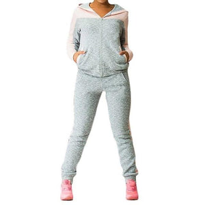 2018 New Women's Tracksuit Casual Costumes For Women Spring Female Sporting Suitsuotelab-uotelab