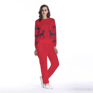 2018 Fashion Women's Autumn and Winter Sweat Suit Two Piece Set Cropuotelab-uotelab