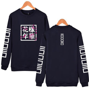 2018 Autumn BTS Young Forever Kpop Hoody Fashion Letter Printed Long Sleeveuotelab-uotelab