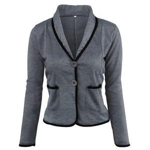 Suits 2018 New Women Spring Autumn Fashion Slim Blazer Jackets for Womenuotelab-uotelab