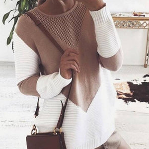2018 Winter Womens Knitwear Jumper Sweaters Long Sleeve Coat Jacket Knit Sweateruotelab-uotelab