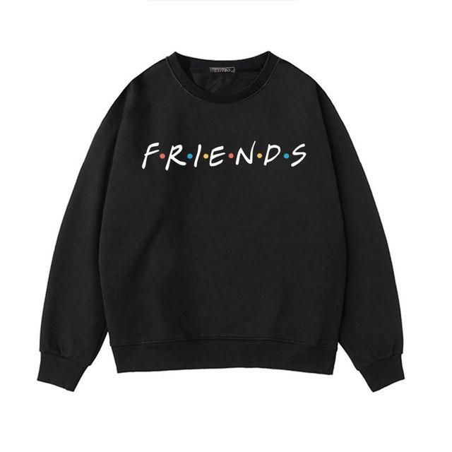 Friends TV Show Gift hoodies 2018 new Harajuku letter printing Summer Topuotelab-uotelab