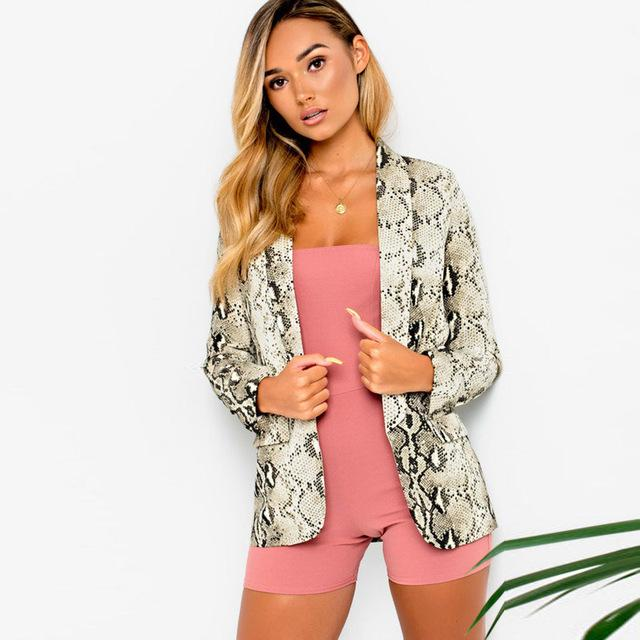 2018 new fashion winter women's open pin jacket high street long sleeveuotelab-uotelab