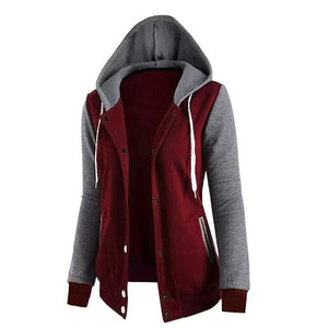Kezrea New Autumn Hoodie Women Sweatshirt Long Sleeve Pocket Loose Shirt Topuotelab-uotelab