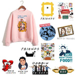 Friends TV Show women hoodie female hooy hoodies Harajuku Oversized Femme 90suotelab-uotelab