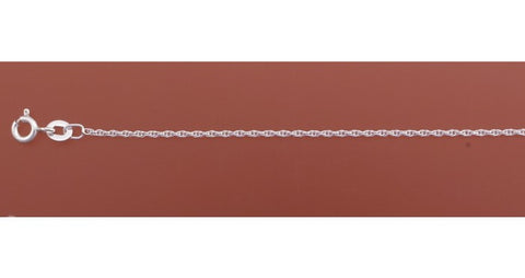 45cm Sterling Silver French Rope Chain