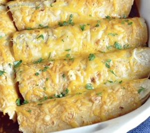 Bake at Home Chicken Enchiladas