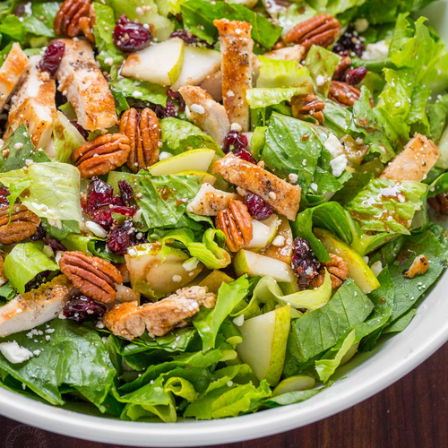 Fall Chopped Chicken Salad
