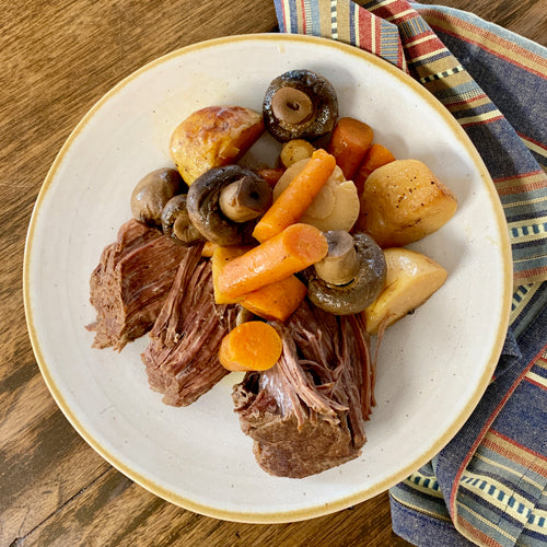 Roast Beef & Vegetables