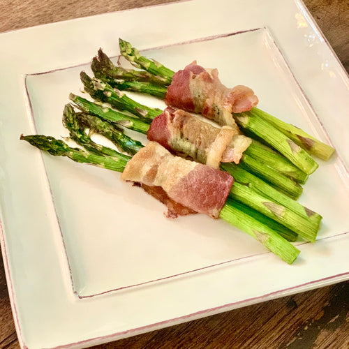 Bake at Home Bacon-Wrapped Asparagus