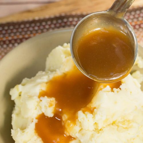 Mashed Potatoes & Beef Gravy