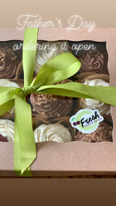 Father's Day Cupcakes/boxed 4