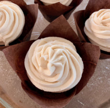 Load image into Gallery viewer, Triple Vanilla Cream-filled Cupcakes